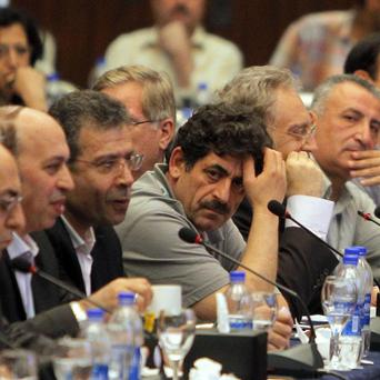 Many Syrian opposition groups met in Egypt but activists had trouble coming to an agreement (AP)