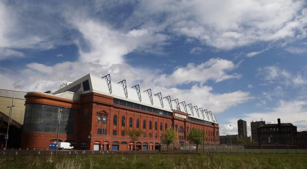 The Ibrox club could be playing football in Scotland's Third Division next season