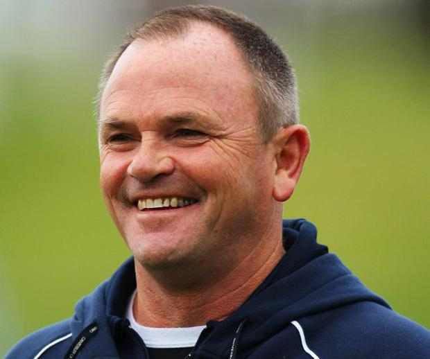 Fresh face: Former Auckland boss Mark Anscombe is the man Ulster Rugby chiefs have selected to take the side to the next level