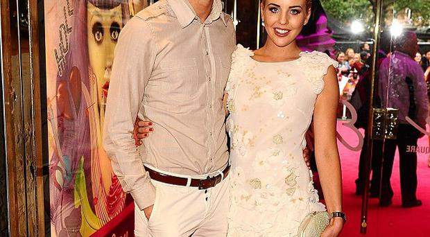 Lydia Bright and Tom Kilbey step out on the red carpet