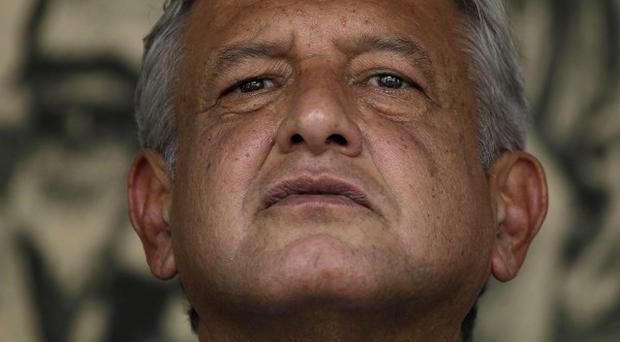 Andres Manuel Lopez Obrador, presidential candidate for the Democratic Revolution Party (AP)