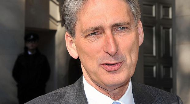Defence Secretary Philip Hammond said difficult decisions must be made