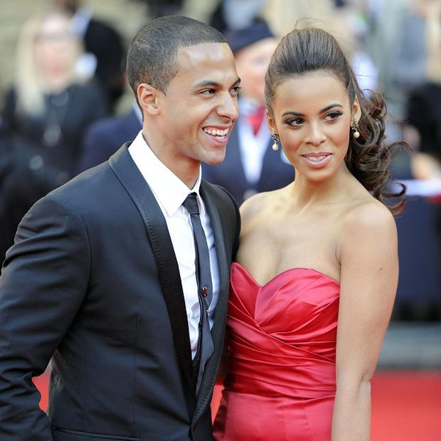Marvin Humes and Rochelle Wiseman are having a Christmas honeymoon