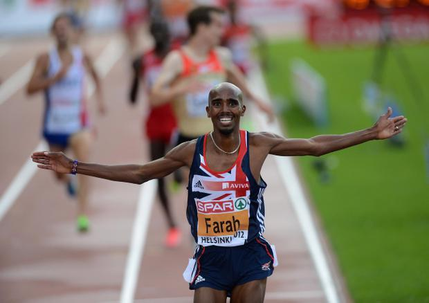 Mo Farah is a major medal hope for Britain at the London Olympics