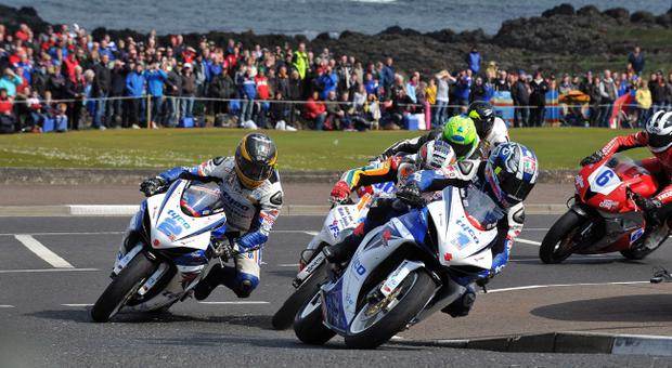 Guy Martin (2) and Alastair Seeley (1) would have thrilled Bishopscourt fans