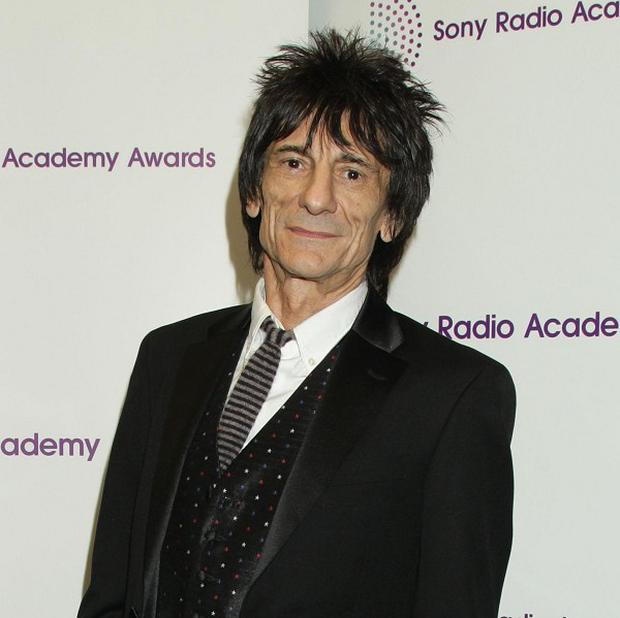 Ronnie Wood was honoured for his radio show