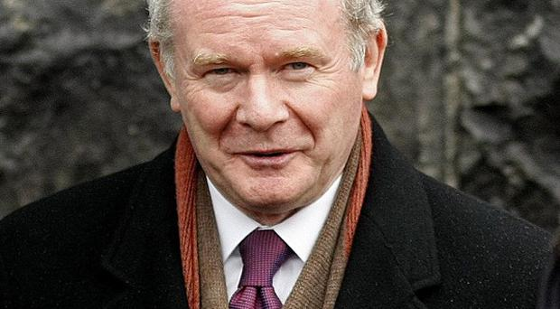 Martin McGuinness was an IRA leader at the time of Bloody Sunday