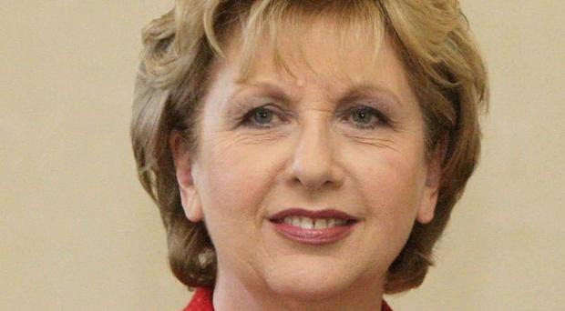 Mary McAleese has been presented with the Tipperary International Peace Award