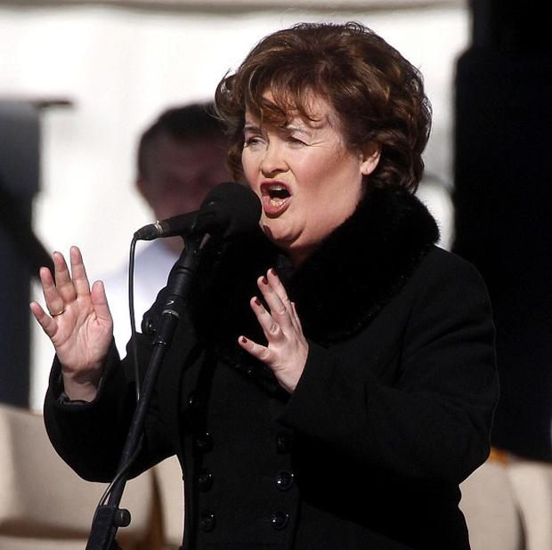 Susan Boyle has recieved an honorary doctorate for her community work