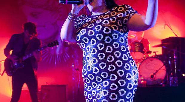 The Gossip's Beth Ditto dedicated her encore to 'the sisterhood'