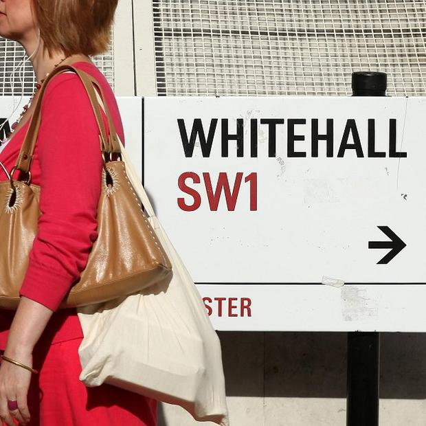 The National Health Service, Whitehall's biggest department, made the greatest saving
