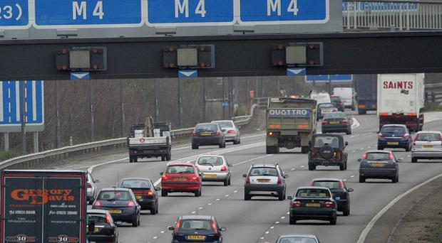 The M4 motorway has been closed in both directions in west London and is expected to remain closed for up to five days