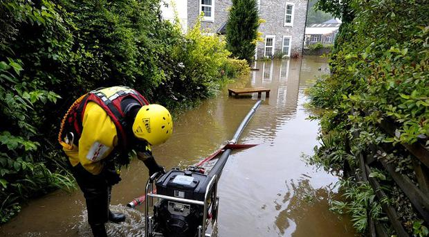 Flood-hit communities across the UK are counting the cost of torrential downpours that left homes under water