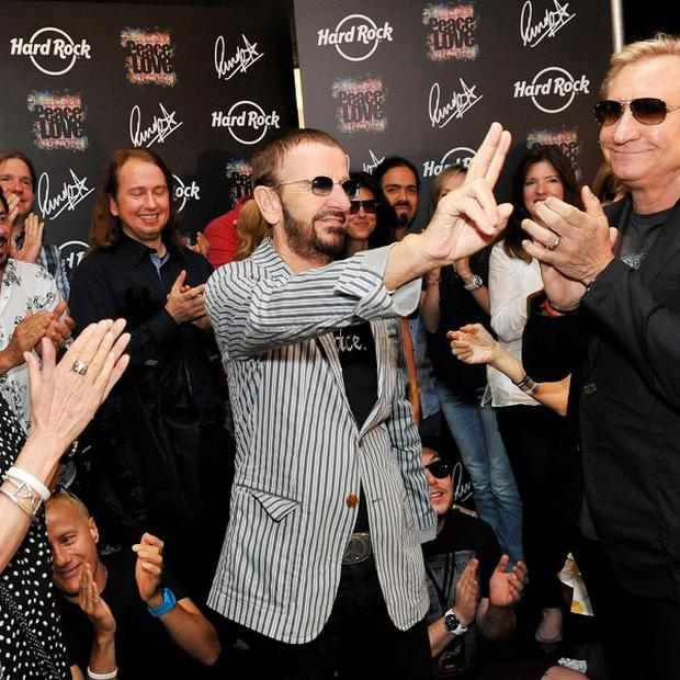 Ringo Starr has celebrated his 72nd birthday (AP)