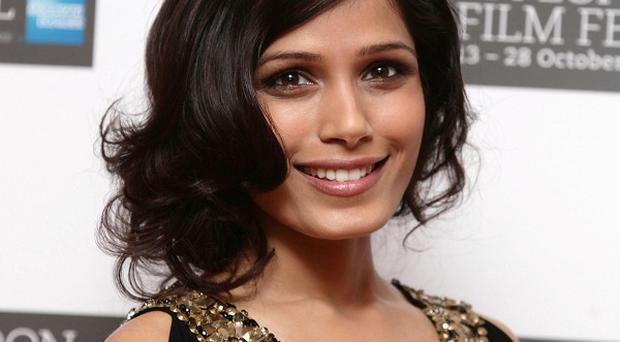 Freida Pinto said she couldn't have enjoyed making Trishna more