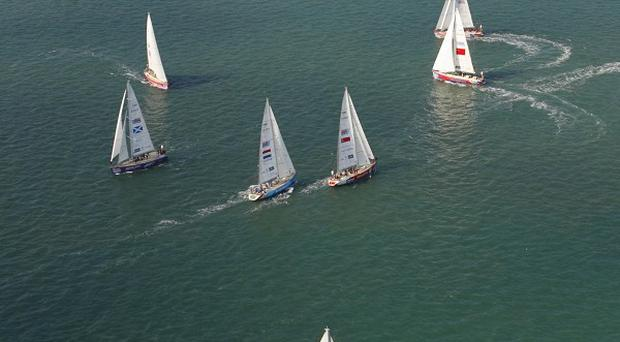 The next lap of the race takes the international crews to Den Helder in the Netherlands