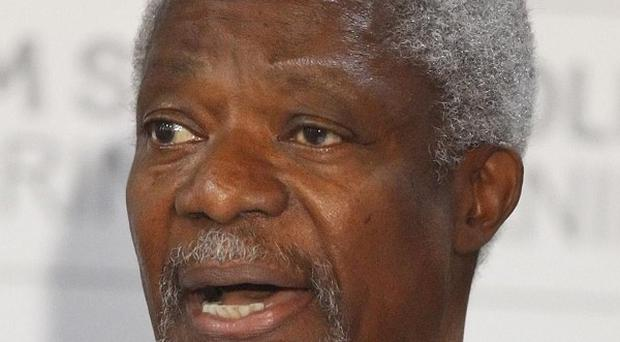 Kofi Annan has met Syria president Bashar Assad in a last-ditch attempt to salvage a peace effort