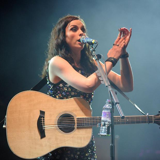 Amy Macdonald performs at the T in the Park