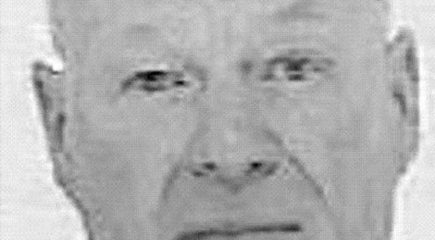A handout police photo of suspected gunman Peter Reeve