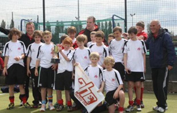 Top of the heap: Annadale's Under 13 side after their UK Divisional Championships win in Nottingham