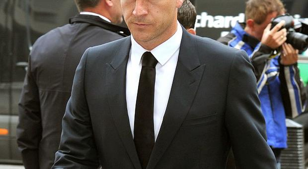 John Terry arrives at Westminster Magistrates Court, London, where his racism trial has resumed