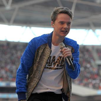Conor Maynard is keeping his new address a secret