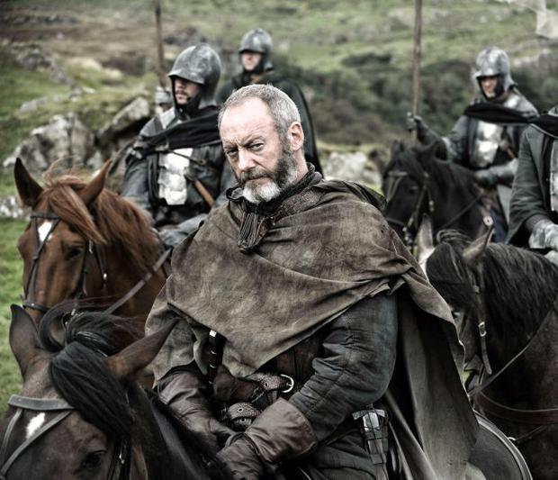 Actor Liam Cunningham in Game of Thrones