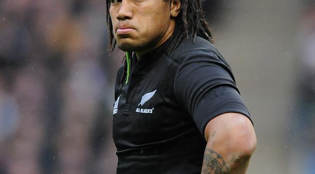 Ma'a Nonu scored a try for the Blues