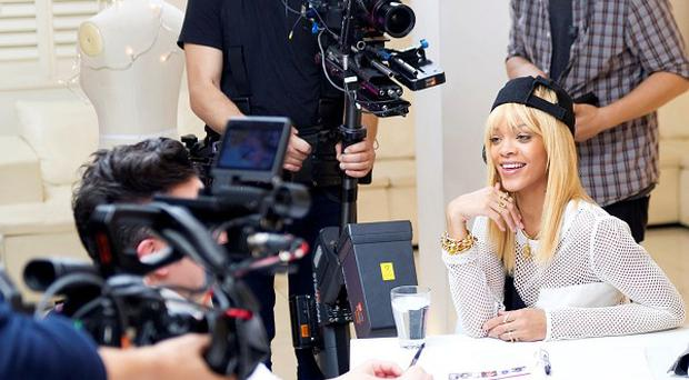 Rihanna is hunting for a budding fashion designer in her new show