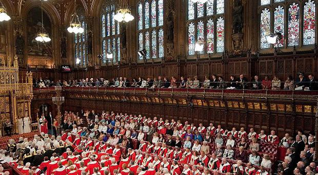 The Government was forced to drop its timetable for the proposed Lords legislation in the face of a significant Tory revolt