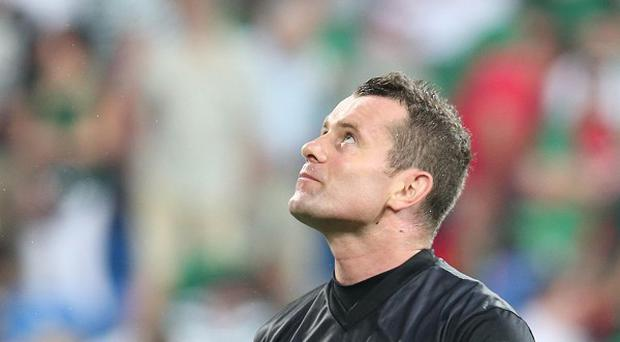 Shay Given endured a difficult Euro 2012 as Ireland's goalkeeper