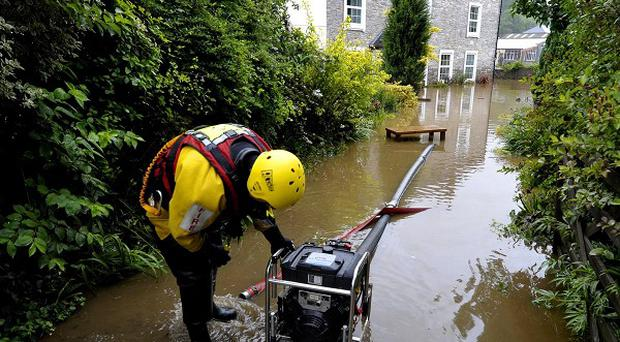 There is also a risk of flooding from rising groundwater across parts of Wiltshire and Somerset, including Salisbury Plain
