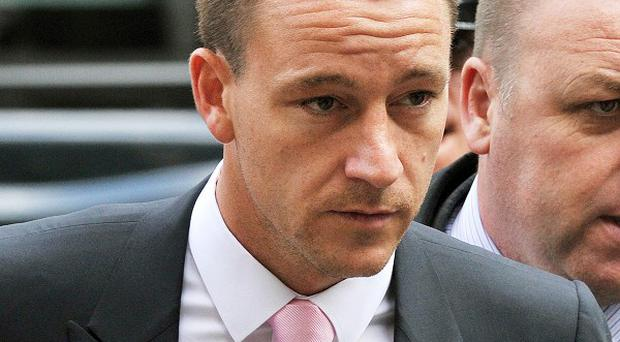 Chelsea captain John Terry has given evidence in his trial for allegedly racially abusing Anton Ferdinand