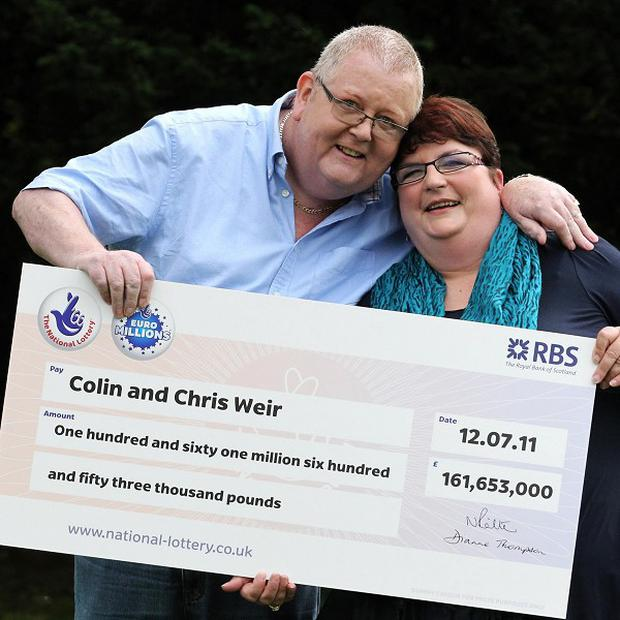 Colin and Chris Weir are celebrating the anniversary of their record EuroMillions jackpot win