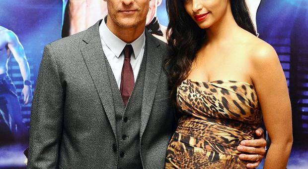Matthew McConaughey has been talking about his marriage to wife Camila