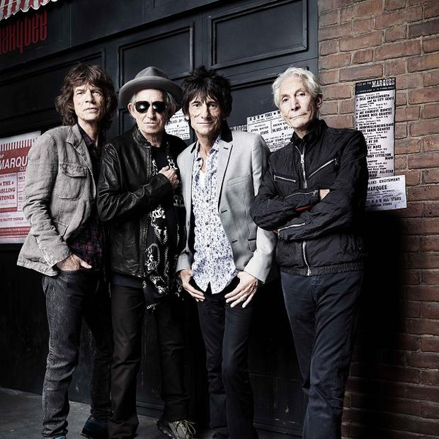 The Rolling Stones mark the 50th anniversary of their first gig (Rankin/PA)