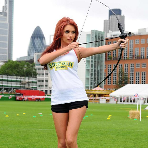 Amy Childs would love to follow old pal Mark Wright and head for Hollywood