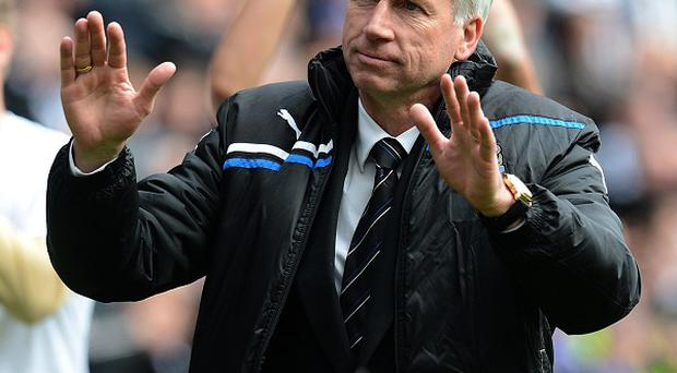 Newcastle boss Alan Pardew says he will not rush into making signings