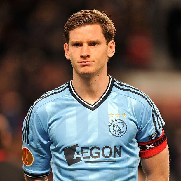 Jan Vertonghen captained Ajax to the Dutch title last season