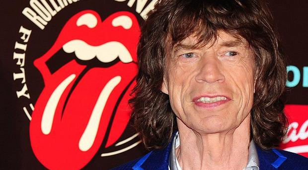 Mick Jagger arrives at the Rolling Stones: 50 photographic exhibition at Somerset House, London