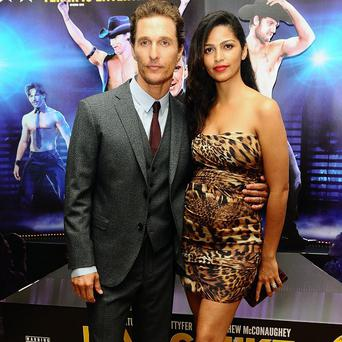Matthew McConaughey and his wife Camila Alves will not find out the gender of their third child until it is born