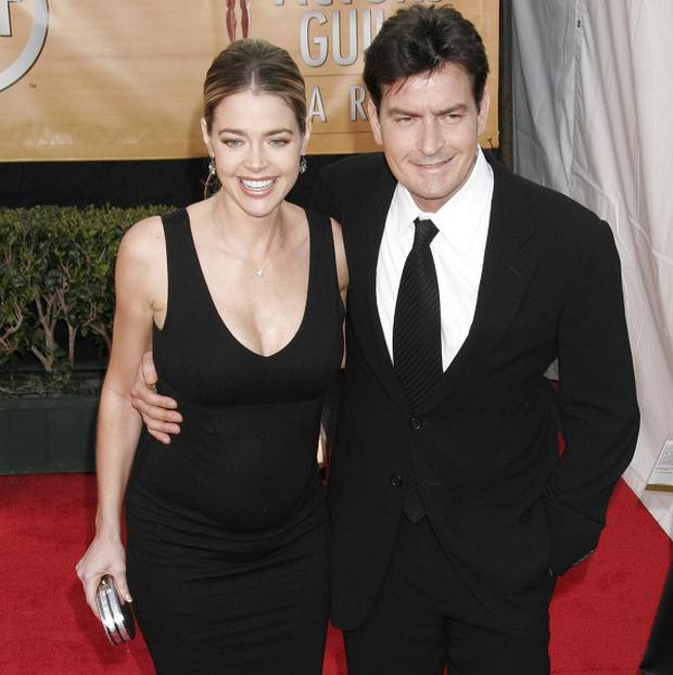 Charlie Sheen and Denise Richards were married for four years