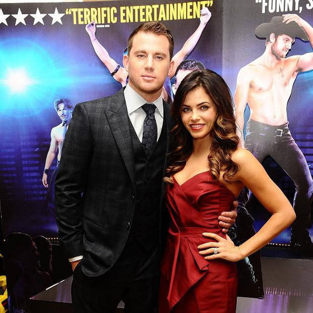 Channing Tatum would like to star with his wife Jenna Dewan in the movie version of 50 Shades Of Grey