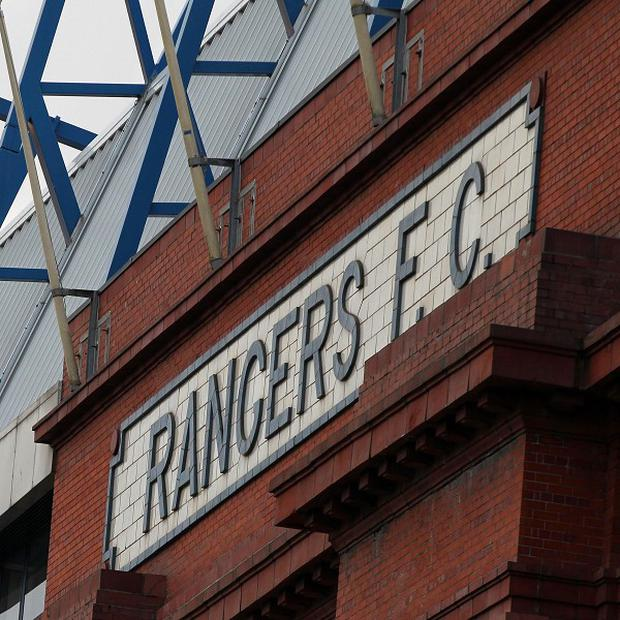 Rangers will play in the Third Division next season