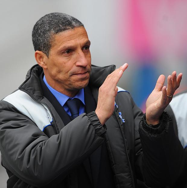 Chris Hughton's first priority as Norwich boss will be to ensure Premier League survival