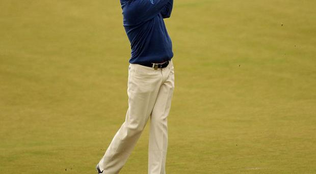 Peter Lawrie is in contention at the Scottish Open