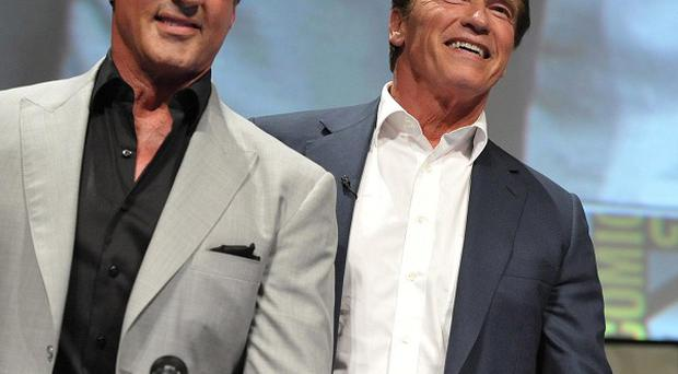 Arnold Schwarzenegger admitted his co-stars teased him