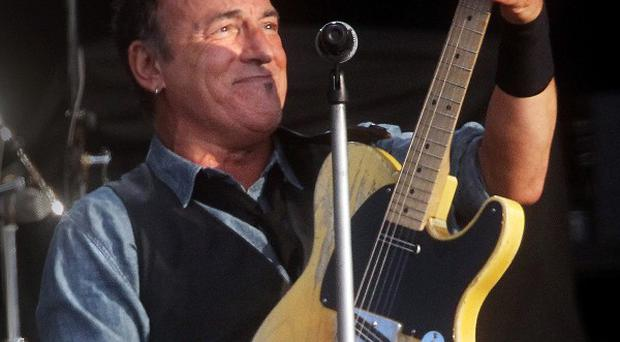 Bruce Springsteen performs at the Hard Rock Calling music festival in London