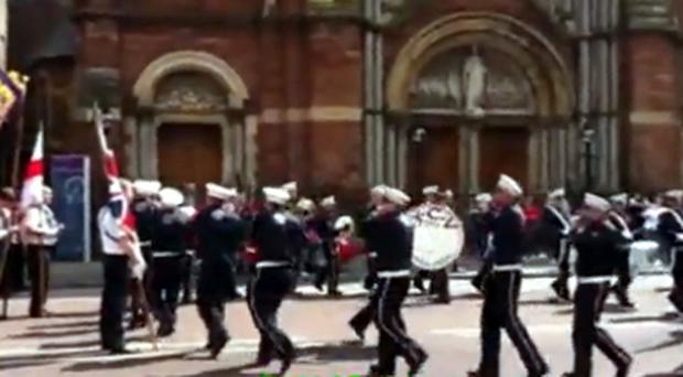 A trial involving Young Conway Volunteers flute band has been delayed.