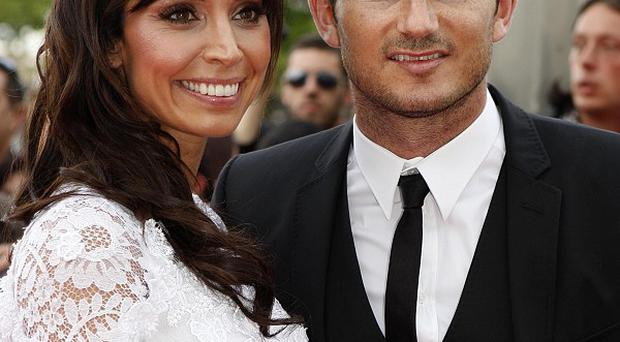 Christine Bleakley with Frank Lampard